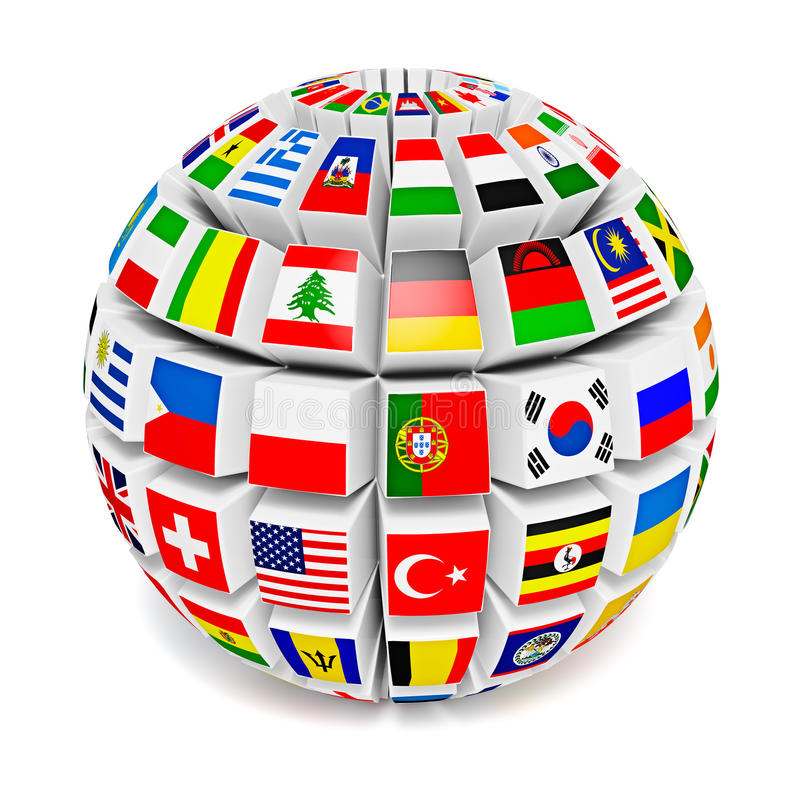 globe-sphere-flags-world-travel-international-business-concept-d-lags-white-background-44828878
